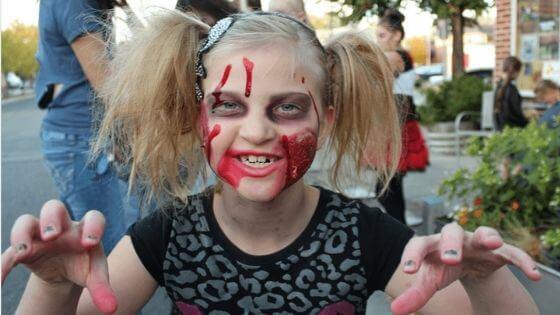 maquillaje halloween ninos