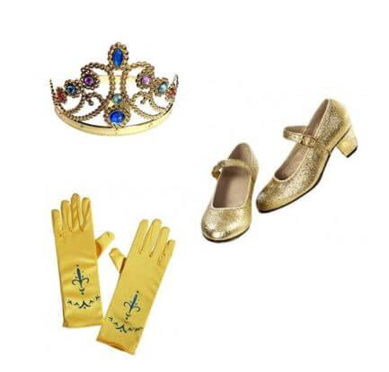 accesorios princesa bella regalo navidad