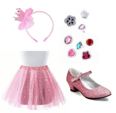 accesorios princesas rosa