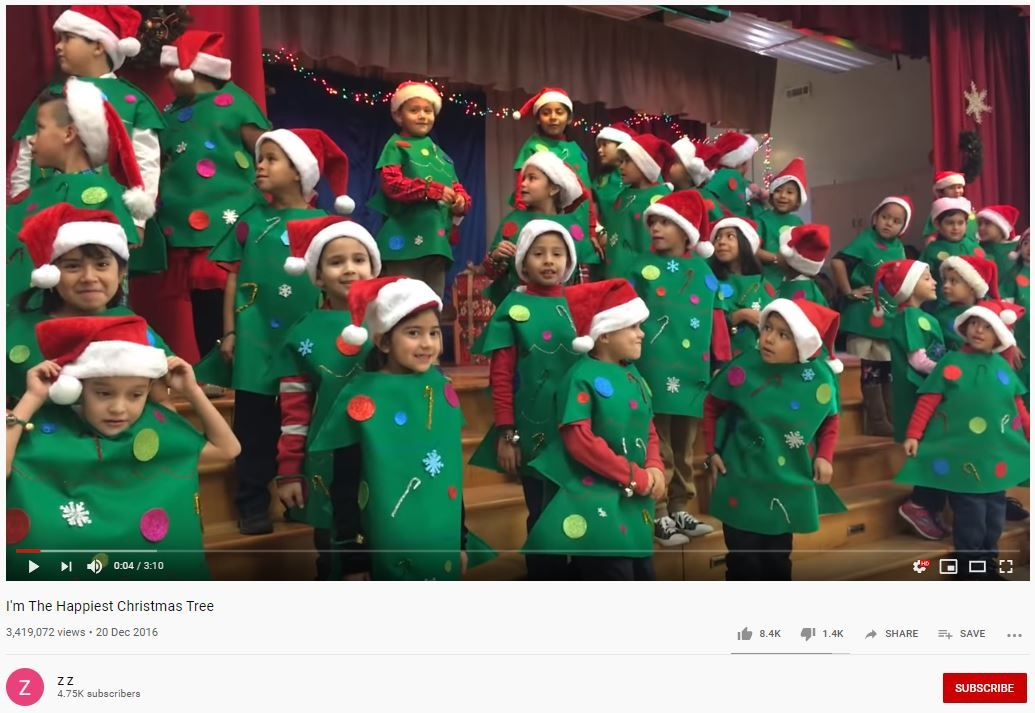 actuaciones navidad arbol