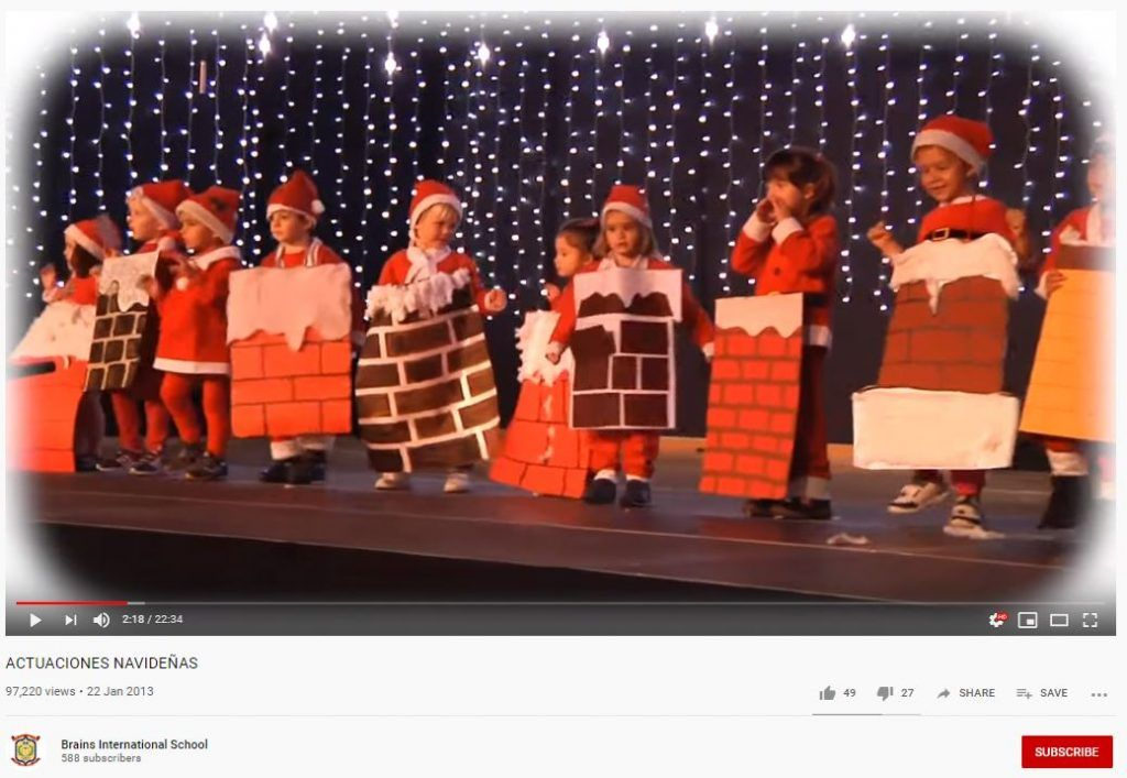 actuaciones navidad colegios