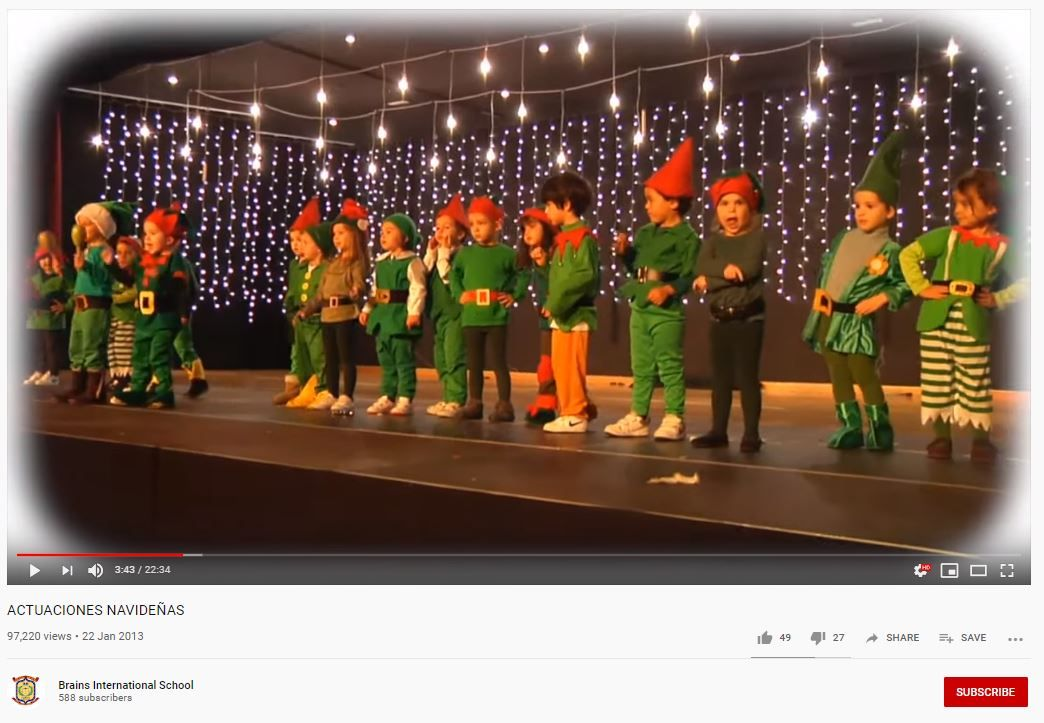 actuaciones navidad colegios elfos
