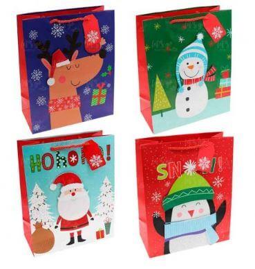 bolsas regalos navidad originales
