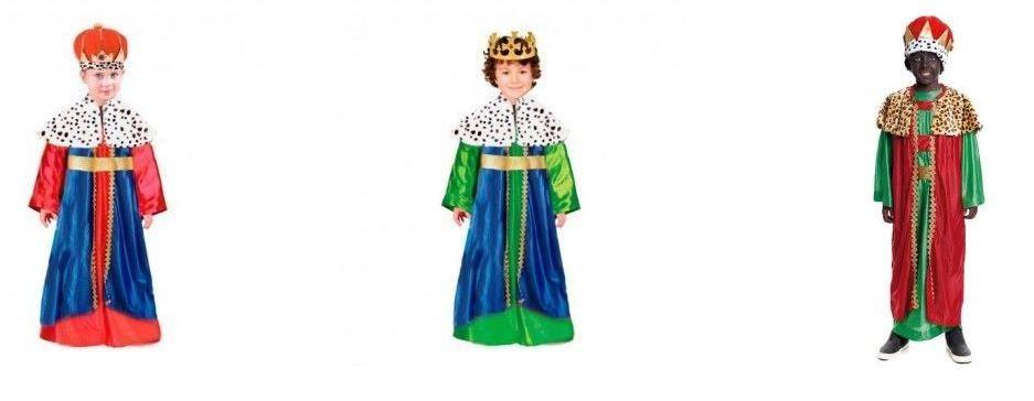 disfraces reyes magos niños