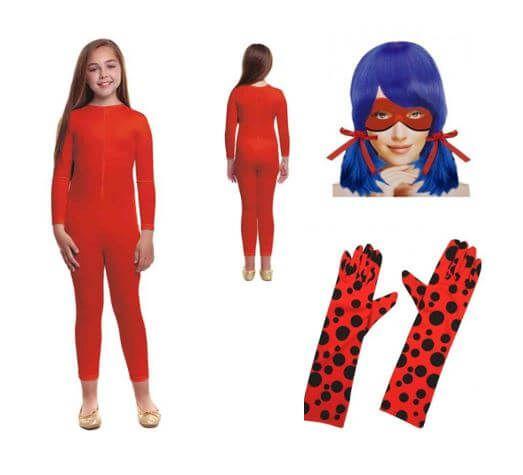 disfraz ladybug casero infantil regalo