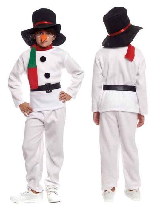 disfraz muneco nieve infantil