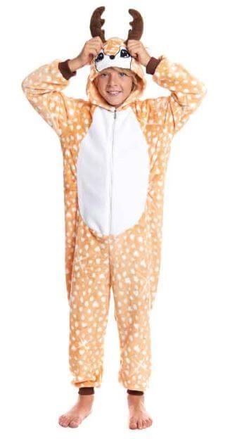 disfraz pijama ciervo idea regalo ninos