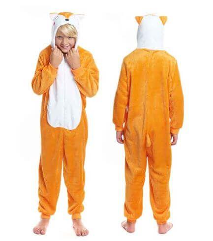 disfraz pijama zorro idea regalo ninos