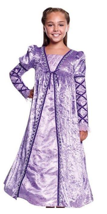 disfraz princesa lila medieval