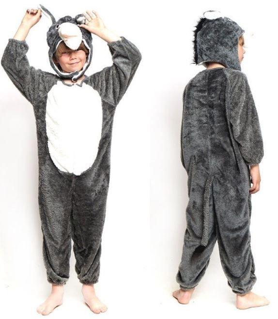 disfraz burro belen viviente