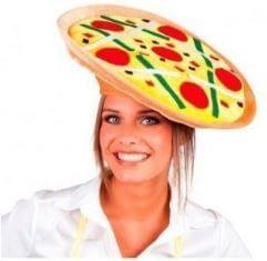 gorro pizza original regalo