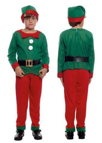 disfraz duende navidad nino