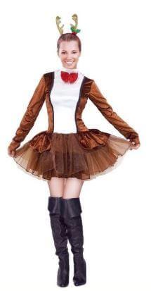 disfraz reno mujer tutu