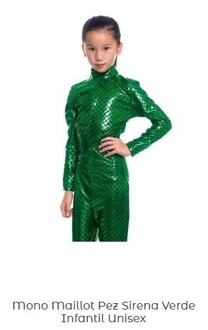Disfraz-marciana-escamas-mono-verde-maillot-infantil