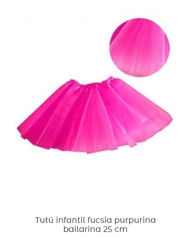 Disfraz-pelicano-falda-tul-rosa