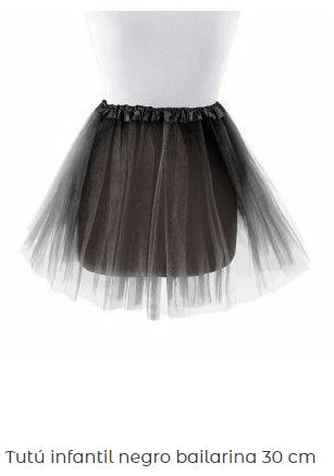 Falda-negra-tul-mujer-diamantes-barato
