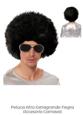 Peluca-Afro-disfraz-disco-economico