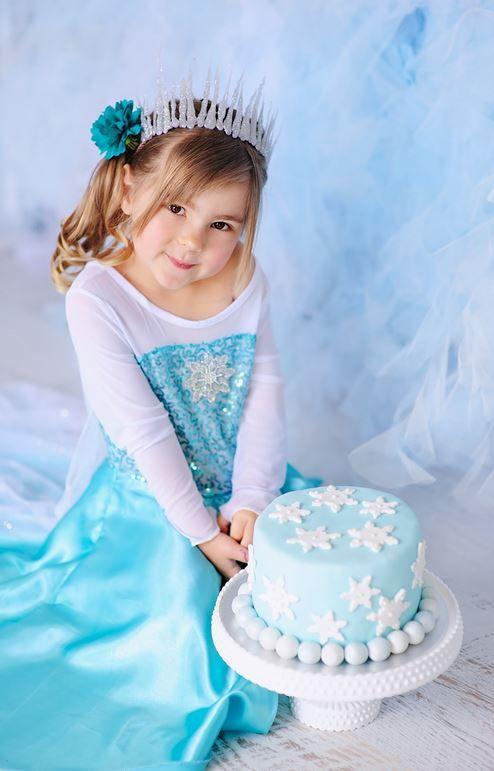 disfraz frozen princesa de hielo