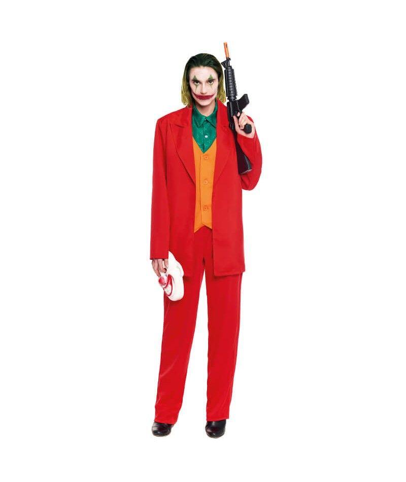 disfraz joker naranja