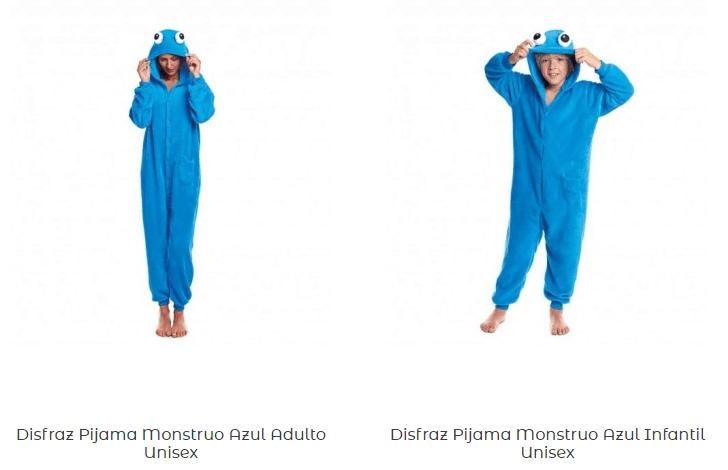 Disfraces-pijamas-adulto-monstruo-galletas-baratos