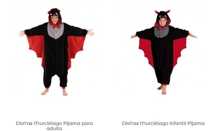 Disfraces-pijamas-adulto-originales-baratos-murciélago