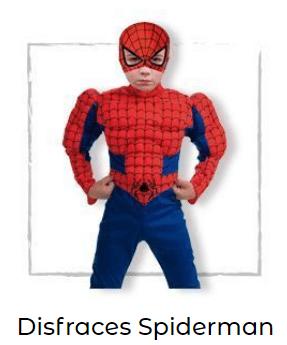 Disfraces-superheroes-Spiderman