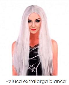 The-Witcher-disfraz-peluca