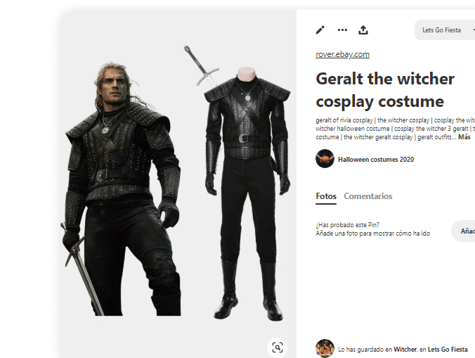 The-Witcher-disfraz