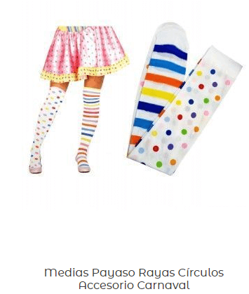 disfraz-LOL-Surprise-casero-calcetines-multicolor