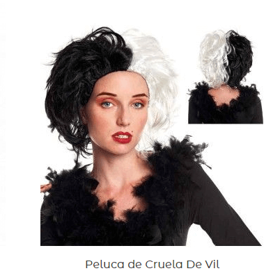 disfraz-LOL-Surprise-casero-peluca-cruela-vil
