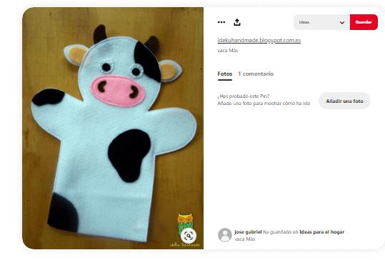 Marionetas-caseras-de-mano-vaca