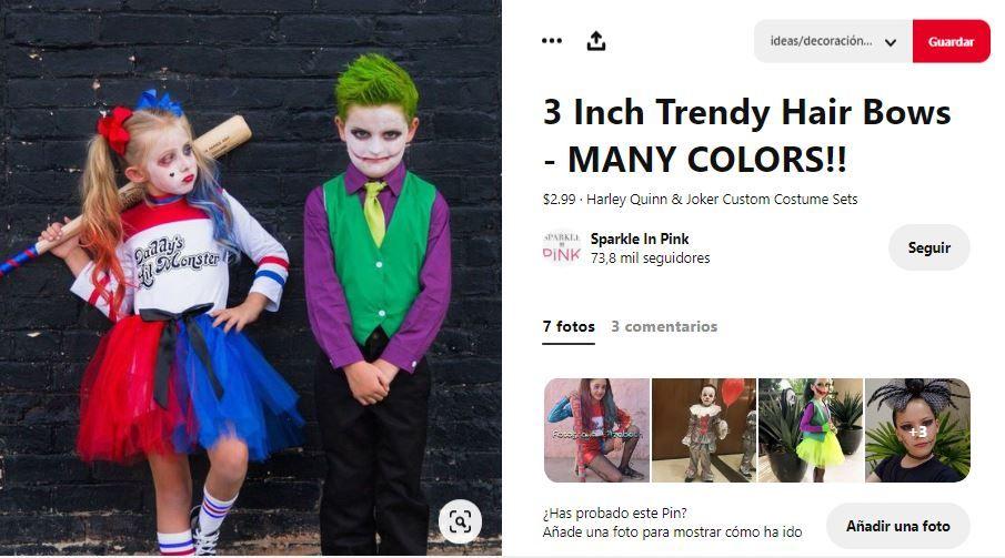 disfraces de moda harley quinn joker