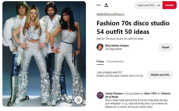 look disco 70