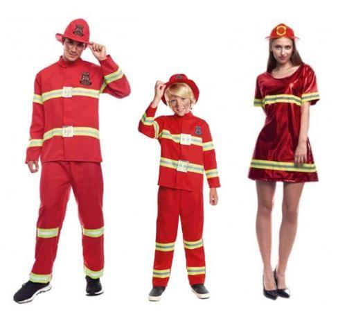 disfraces bomberos