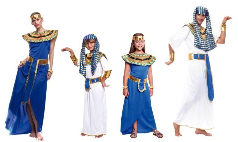 mejores disfraces egipcios historicos