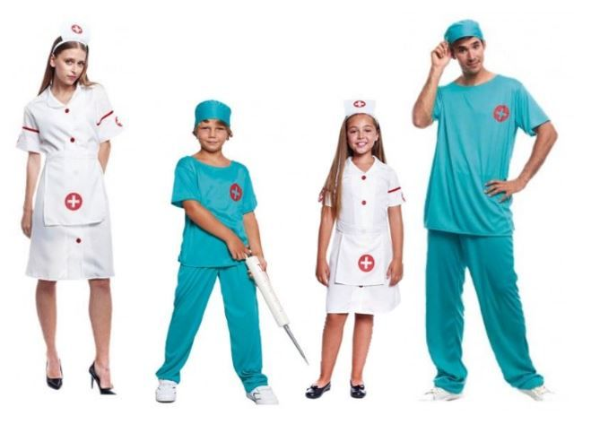 mejores disfraces medicos sanitarios