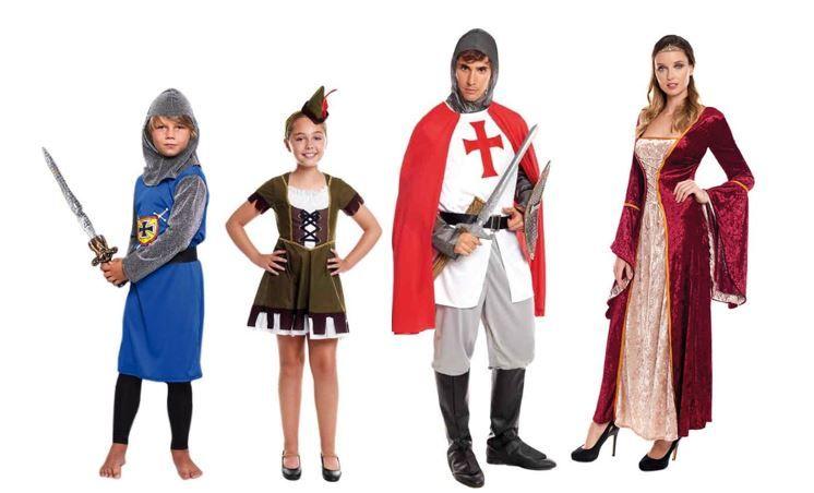 mejores disfraces medievales historicos