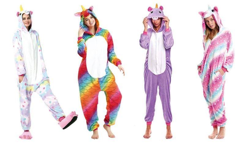 mejores disfraces mujer unicornio pijamas