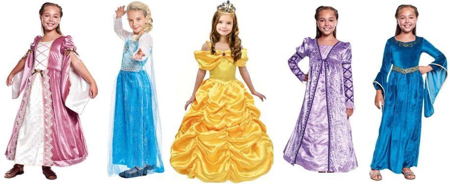mejores disfraces ninas princesas