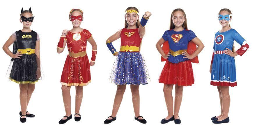 mejores disfraces ninas superheroinas