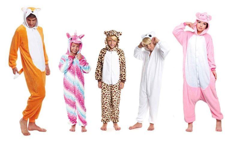 mejores disfraces pijamas animales