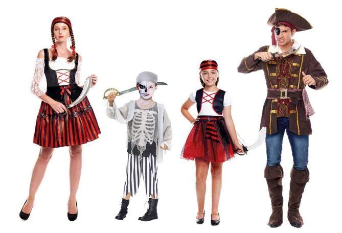 mejores disfraces piratas historicos
