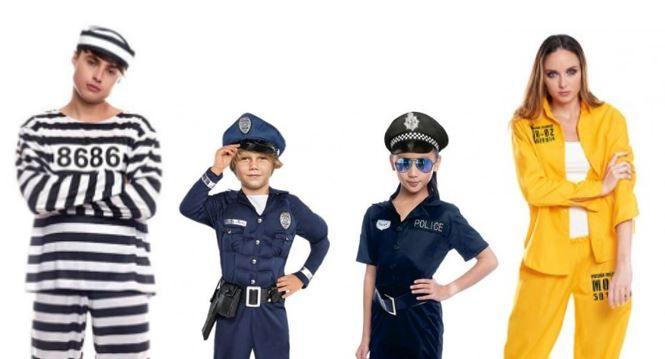 mejores disfraces policias ladrones