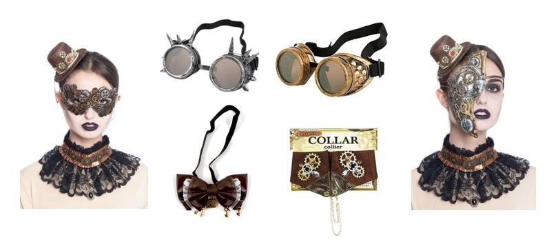 mejores disfraces steampunk oeste futurista