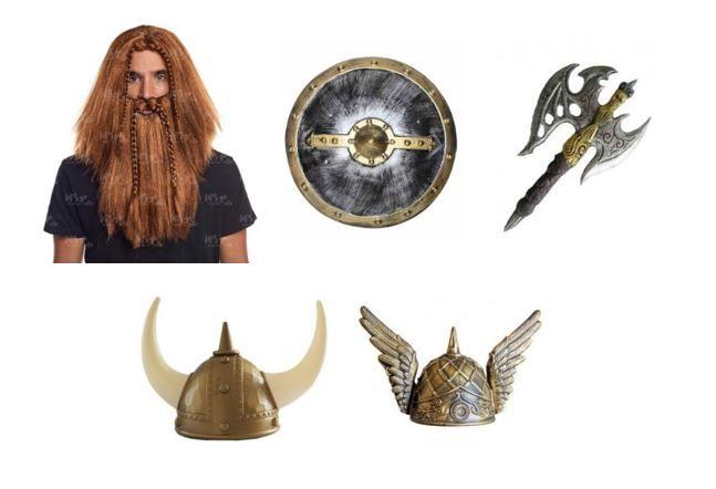 mejores disfraces vikingos