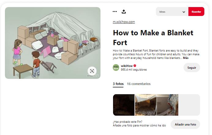 Como fabricar cabana de tela en casa