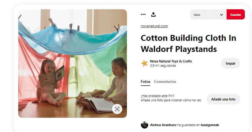 Como fabricar cabana de tela infantil