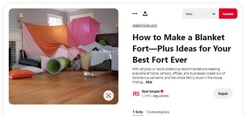 Como fabricar cabana de tela sabanas