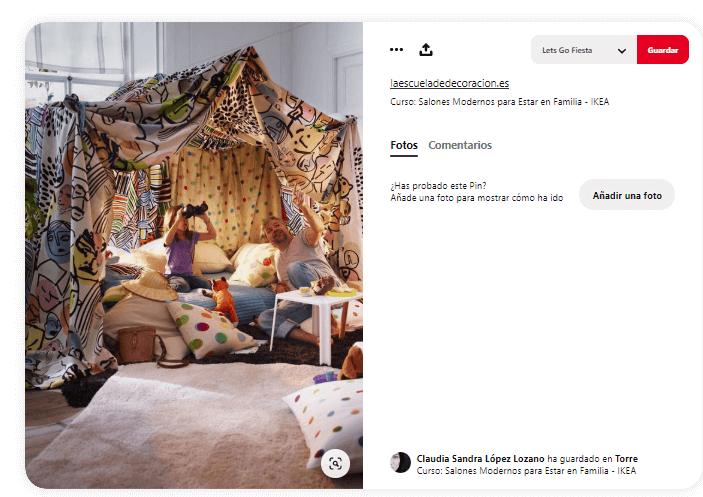 Como fabricar cabana de tela sabanas decoración