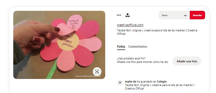 Dia de la madre tarjetas flores